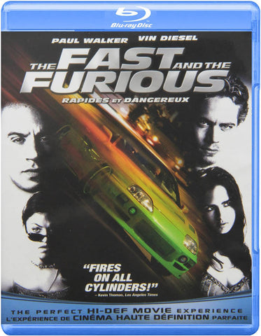 The Fast and the Furious (Blu-ray) (Bilingual) BLU-RAY Movie