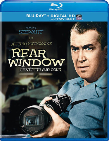 Rear Window (Blu-ray + Digital HD + UltraViolet) (Bilingual) (Blu-ray) BLU-RAY Movie