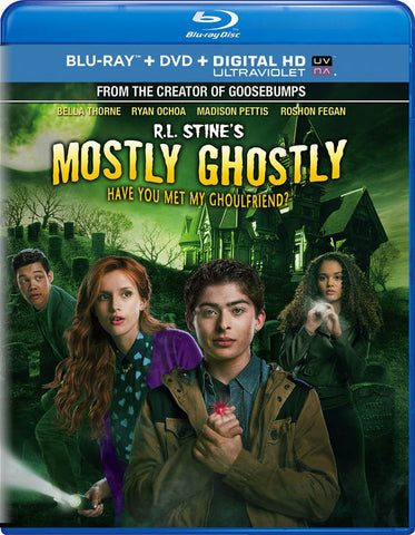 R.L. Stine s Mostly Ghostly - Have You Met My Ghoulfriend (Blu-ray + DVD + Digital HD) (Blu-ray) BLU-RAY Movie