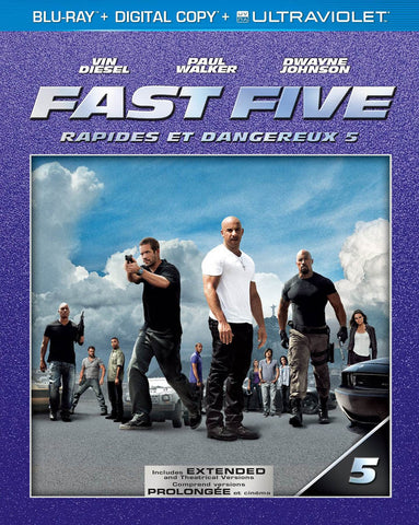 Fast Five (Extended Edition) (Blu-ray + Digital Copy + UltraViolet) (Bilingual) (Blu-ray) BLU-RAY Movie