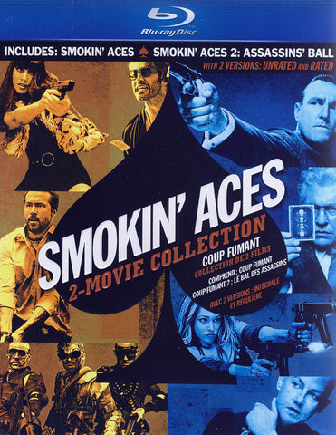 Smokin' Aces (2 Movie Collection) (Blu-ray) (Boxset) (Bilingual) BLU-RAY Movie