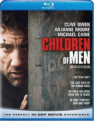 Children of Men (Blu-ray) BLU-RAY Movie