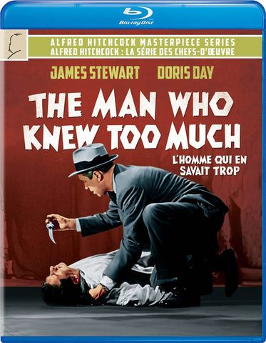 The Man Who Knew Too Much (Bilingual) (Blu-ray) BLU-RAY Movie
