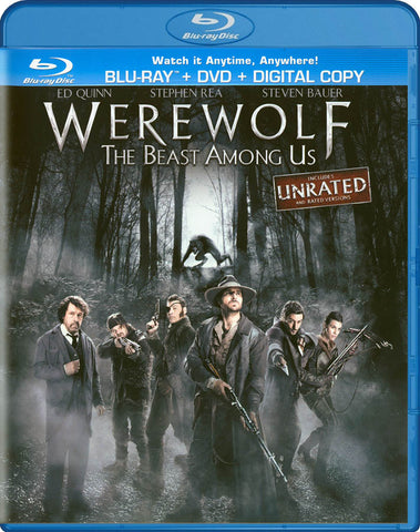 Werewolf - The Beast Among Us (Blu-ray + DVD + Digital Copy) (Blu-ray) BLU-RAY Movie