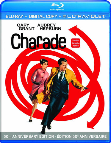 Charade (Blu-ray + Digital Copy + Ultraviolet) (Bilingual) (Blu-ray) BLU-RAY Movie