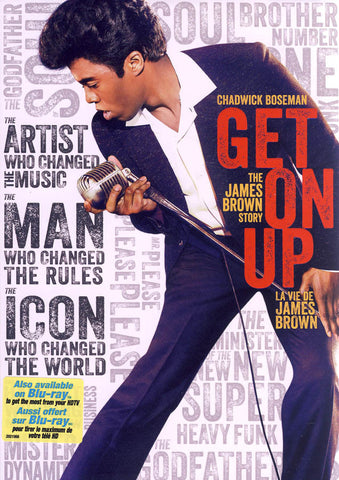 Get On Up (Bilingual) DVD Movie