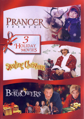 Prancer Returns / Stealing Christmas / The Borrowers (Triple Feature) DVD Movie