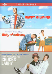 Happy Gilmore/ Billy Madison/ I Now Pronounce You Chuck & Larry (Triple Feature) (Bilingual)