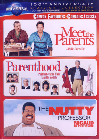 Meet the Parents / Parenthood / The Nutty Professor (Bilingual) DVD Movie
