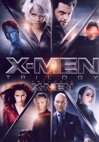 X-men Trilogy (X-men / X-men United / X-men The Last Stand) (Boxset) (Bilingual) DVD Movie