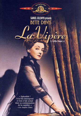 La Vipere (MGM) DVD Movie