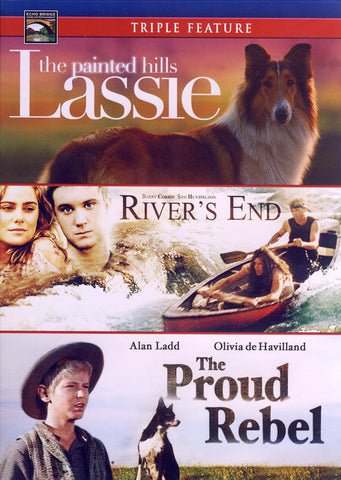 Lassie: The Painted Hills / River's End / The Proud Rebel (Triple Feature) DVD Movie