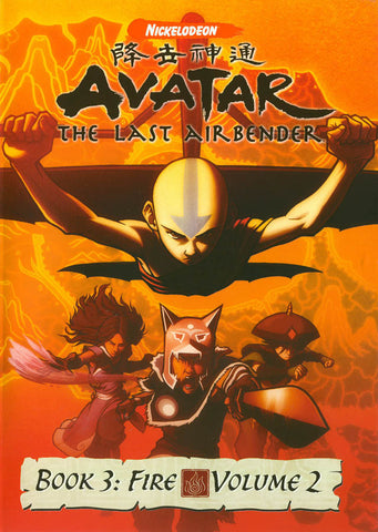 Avatar the Last Airbender - Book 3 Fire, Vol. 2 DVD Movie