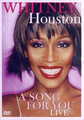 Whitney Houston - A Song For You: Live DVD Movie