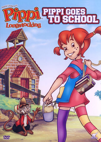 Pippi Longstocking - Pippi Goes To School (CA Version) DVD Movie