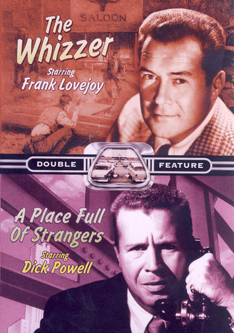 The Whizzer / A Place Full Of Strangers (Double Feature) DVD Movie