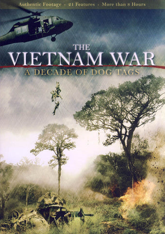 The Vietnam War - A Decade of Dog Tags DVD Movie