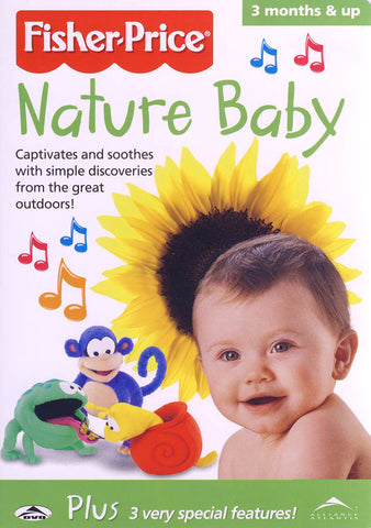 Fisher Price - Nature Baby (ALL) DVD Movie