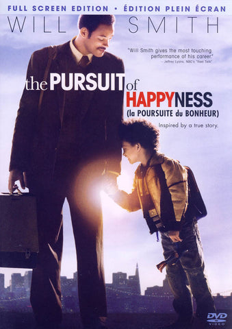 The Pursuit of Happyness (Full Screen Edition) (Bilingual) DVD Movie