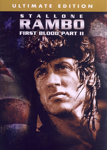 Rambo - First Blood Part II (Ultimate Edition) (MAPLE) DVD Movie