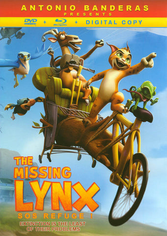 The Missing Lynx (DVD + Blu-Ray + Digital Copy) (DC) (Bilingual) (Blu-ray) BLU-RAY Movie