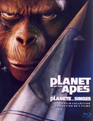 Planet of the Apes: 5-Film Collection (Blu-ray) (Boxset) (Bilingual)