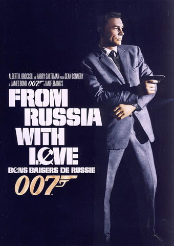 From Russia With Love (Black Cover) (Bilingual) DVD Movie