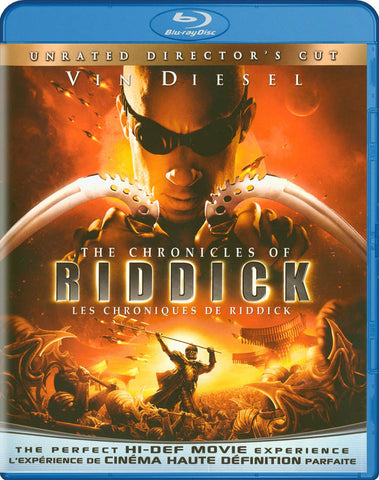The Chronicles of Riddick (Unrated Director s Cut) (Blu-ray) (Bilingual) BLU-RAY Movie