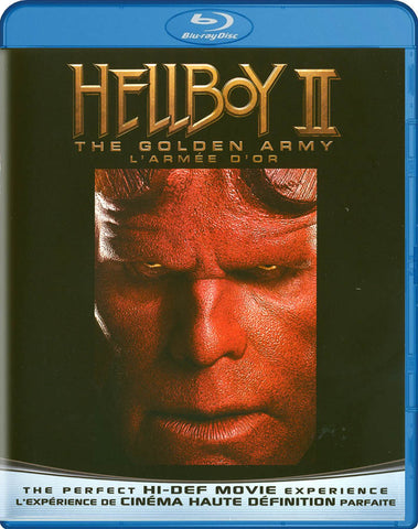 Hellboy II: The Golden Army (Blu-ray) (Bilingual) BLU-RAY Movie
