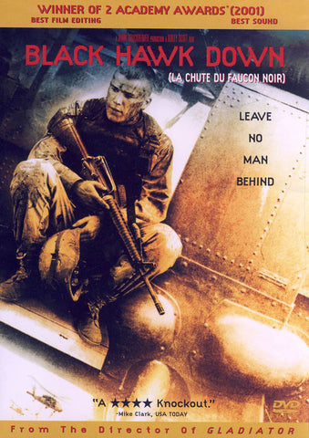 Black Hawk Down (Bilingual) DVD Movie