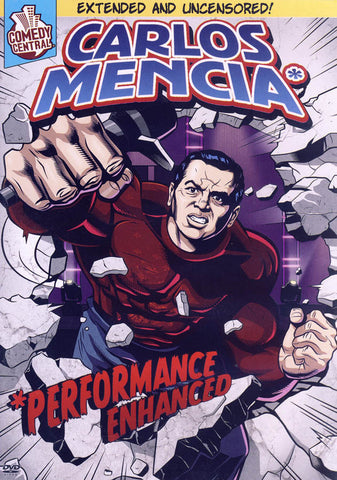 Carlos Mencia - Performance Enhanced DVD Movie