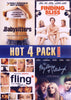 Hot 4 Pack - Volume 2 (The Babysitters / Finding Bliss / Fling / The Mysteries of Pittsburgh) DVD Movie