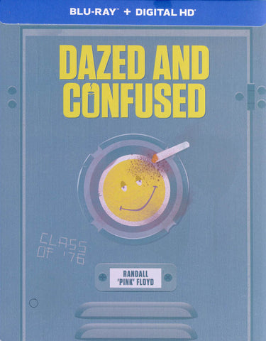 Dazed And Confused (Blu-ray + Digital HD) (Steelcase) (Bilingual) DVD Movie