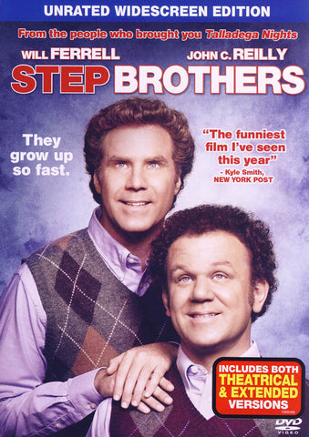 Step Brothers (Unrated Widescreen Edition) DVD Movie