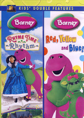 Barney (Rhyme Time Rhythm / Red, Yellow, and Blue) (Double Feature)