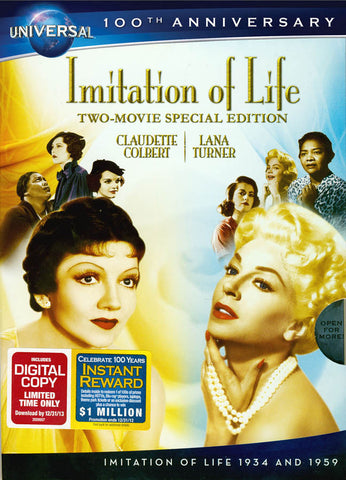 Imitation Of Life (Two-Movie Special Edition) (Universal Legacy Series) (Bilingual) DVD Movie