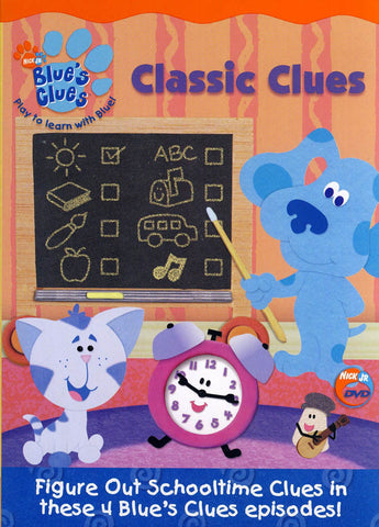 Blue s Clues - Classic Clues (CA Version) DVD Movie