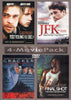 Too Young to Die / JFK Reckless Youth / Cracker / Final Shot (4-Movie Pack) DVD Movie