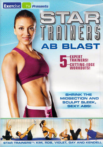 Star Trainers - AB Blast (LG) DVD Movie
