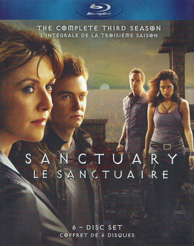 Sanctuary - The Complete Third (3) Season (Bilingual) (Blu-ray) (Boxset) BLU-RAY Movie