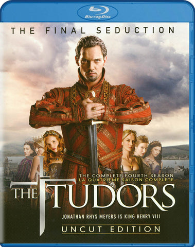 The Tudors - The Complete Fourth (4) Season (Uncut Edition) (Blu-ray) (Bilingual) BLU-RAY Movie