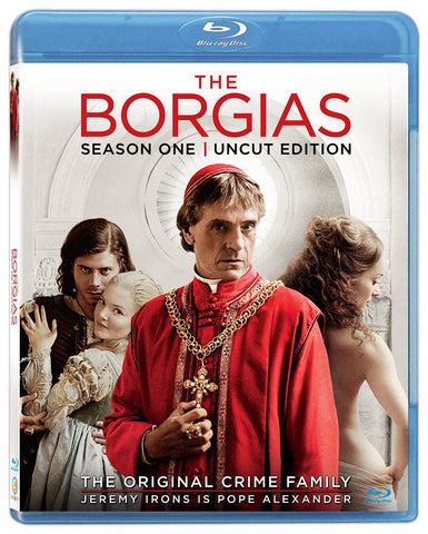 The Borgias - Season One (1) (Uncut Edition) (Blu-ray) BLU-RAY Movie