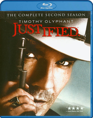 Justified - The Complete Second (2) Season (Blu-ray) BLU-RAY Movie