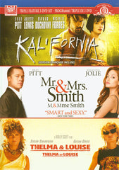 Kalifornia / Mr. & Mrs. Smith / Thelma & Louise (Triple Feature) (Bilingual)