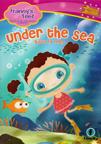 Franny's Feet - Under The Sea (Bilingual) DVD Movie