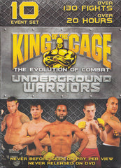 King of the Cage - Underground Warriors (Boxset)