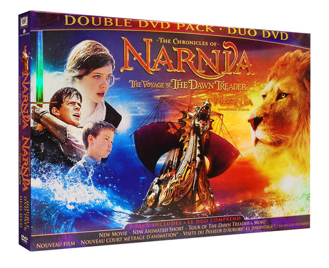 The Chronicles Of Narnia - Voyage Of The Dawn Treader (Double DVD Pack) (Bilingual) (Side By Side) DVD Movie