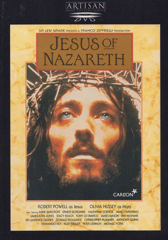 Jesus of Nazareth (Artisan) DVD Movie