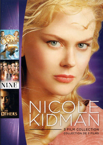 Nicole Kidman - 3 Film Collection (Golden Compass / Nine / Others) (Bilingual) DVD Movie