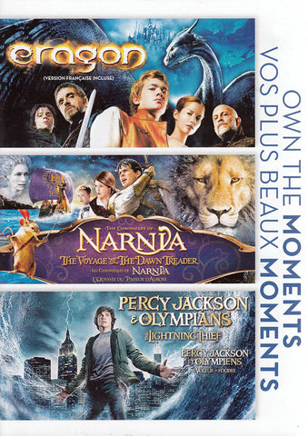 Eragon / The Chronicles Of Narnia / Percy Jackson & The Olympians (Bilingual) DVD Movie